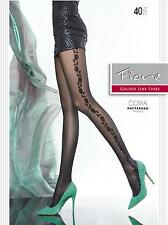 Large Sexy Stockings Tights Sheer Pantyhose Black Patterned Dress