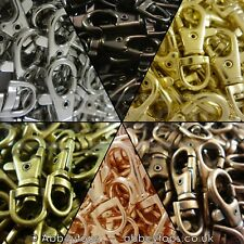 37mm Lobster Swivel Clasps Clips Bag Key Ring Hook Findings Keychain