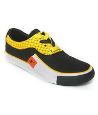 Sparx Brand Mens Black,Yellow Casual Canvas Sneakers Shoes SM198