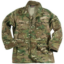 Tru-Spec Military Tactical Us Bdu Army Combat Mens Shirt Genuine Multicam Camo