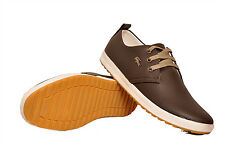 West Code Mens Casual Trendy Shoes 814-Brown