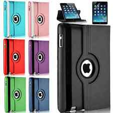 Leather 360 Degree Rotating Smart Stand Case Cover For Apple iPad mini 1/2/3 & 4