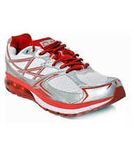 COLUMBUS BRAND MENS WHITE RED ORBIT CASUAL LACE SPORTS SHOES