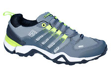 COLUMBUS BRAND MENS GREY RIDER CASUAL LACE SPORTS SHOES