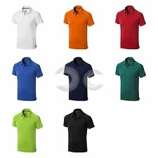 POLO COOL FIT OTTAWA ELEVATE PER UOMO MANICHE CORTE T SHIRT MAGLIETTA COLLETTO