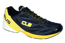 Columbus Brand Mens Black Yellow Casual Sports Shoes Master Key