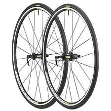 Coppia Ruote Mavic Aksium Elite 25 M25 - HG11 strada bike road wheels