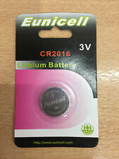1 x Eunicell 3V Lithium Button / Coin Cells Batteries CR 2016 CR 2032 CR 2025