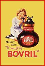 Bovril   Large metal Retro Aluminium Sign vintage shabby chic tin sign