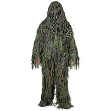 Ghillie Suit Chacal 3D Camo Paintball Airsoft Caza Camuflaje Woodland M-Xxl