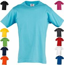 TEE JAYS KINDER T-SHIRT Junior Basic Tee KURZARM Rundhals-4/6,8/10,12/14 Jahre-2