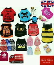 Fancy T Shirt Dogs Pet Puppy Pup Clothes Funny Costume Vest Dog Dress Seller
