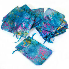 """100 50 4""""x6"""" Coralline Organza Jewelry Pouch Wedding Party Favor Gift Bag"""