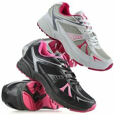 Ladies Womens New Running Shock Absorbing Sports Gym Fitness Trainers Shoes Size