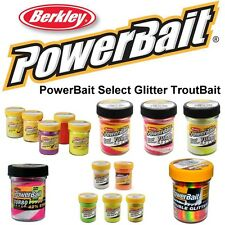 (6,78€/100g) 50g Berkley Powerbait Select Glitter TroutBait Forellenteige