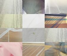 SOFT BRIDAL VEILING WEDDING PROM OVERLAY TULLE TUTU NET FABRIC 150 & 300CM WIDE