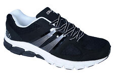 COLUMBUS BRAND MENS BLACK SCOTLAND CASUAL LACE SPORTS SHOES