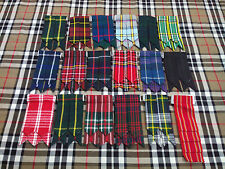 UK Kilt Hose Sock Flashes Various Tartans,Scottish Kilt Flashes,Highland Flashes
