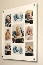 "acrylic 24x28"" x10mm wall picture PHOTO FRAME for 10X8"" ,6X4, 7X5"" all colours"