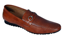 Kello Style Brand Mens Tan Casual Loafer Shoes 8290
