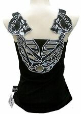 ROCKABILLY PUNK ROCK BABY Gothic Party Skull sexy TANK TOP SHIRT XS/S/M/L/XL/XXL