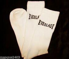 MENS HIGH QUALITY EVERLAST ARCH SUPPORT LONG CREW SOCKS BROWN WHITE BLACK
