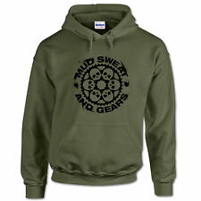 Mud Sweat & Gears MTB Mountain Bike Motocross Down Hill Trail Sport Mens Hoodie