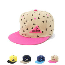 Men Women Hip Hop Baseball Cap Outdoor Sports Flat-Brimmed Sun Hat Adjustable 25