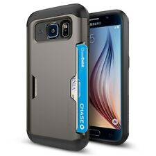 Spigen® Galaxy S6 Case Slim Armor CS [Slim Card Slot Cover]