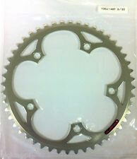 SUGINO 130J 48T 3/32 130BCD SILVER CHAINRING FOR SINGLESPEED AND FIXIE USE