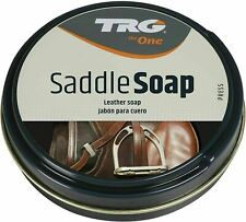 TRG GRISON LEATHER SADDLE SOAP CLEANER UPHOLSTERY SOFAS BOOTS SHOES BAGS 100ML