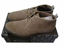 MENS VOEUT SMART SUEDE DESSERT STYLE FASHION SHOES - BEIGE