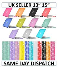 Matte Rubberized Hardshell Hard Case, Cover with Keyboard Skin for Apple MacBook