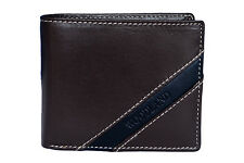 Woodland Mens Brown Original Leather Wallets - W522008