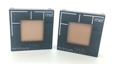 Maybelline Fit Me Foundation Pressed Powder Brush Mirror 9g [8 Shades Available]