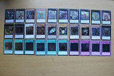 U10) Yugioh Card Ultimate Rare Collection (30 Different Cards)
