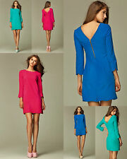 Robe courte femme sexy casual chic mode manches 3/4 NIFE S28 36 38 40 42 44