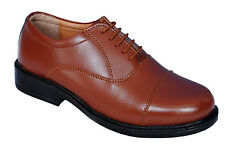 BATA BRAND MENS BROWN OXFORD FORMAL LACE SHOES