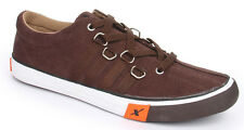 Sparx Brand Mens Brown Casual Canvas Sneakers Shoes SM162