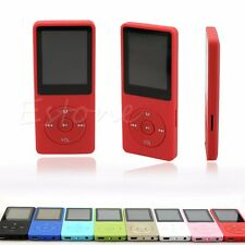 "8G 4GB MP3 MP4 Music Player With 1.8"" LCD Screen FM Radio Video Micro SD/TF Card"