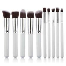 10×Pennelli Trucco Make up Brush PENELLO Strumento Blush Eyeliner Ombretto Set