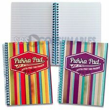 Pukka Pad Americano 160 Page A5 Lined Jotta Notepad Spiral Bound. 2 Cover Styles