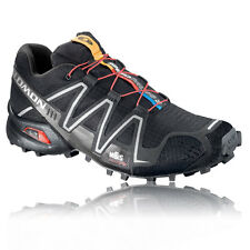 Scarpe Running Salomon Speedcross 3 Uomo Corsa Trail Mesh Outdoor Nero Nuove