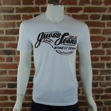 Tee shirt Guess manches courtes homme M52I04 Blanc ,Taille XS S M L