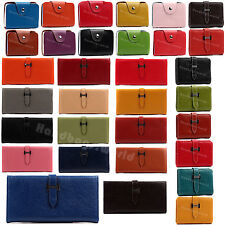 Ladies Womens Girls Genuine Leather Wallet Purse Leather Card Holder Coin Bag