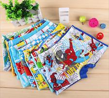 Wholesale Boys Cotton Brief Underwear Boxer Shorts Kids Child spider man 3-10yrs