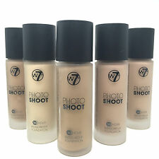 W7 Photo Shoot 16 Hour Budge Proof Foundation | CHOOSE YOUR SHADE |