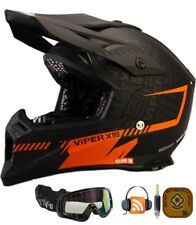 VIPER X99 Casco Moto Off-road Corsa Casco Quad PIT ATV Cross Scooter e Occhiali