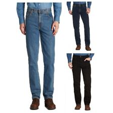 Mens Wrangler Texas Regular Fit Jeans Stonewash Blue All Sizes Available