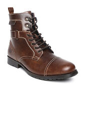 Red Tape Original Mens Long Tan Hi Ankle Casual Boots RTS6223